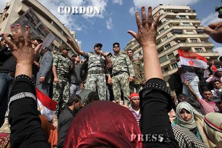Las fuerzas armadas en las revueltas árabes