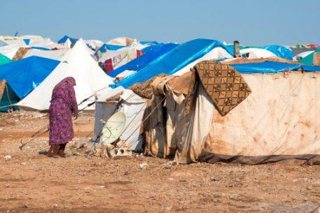 Dentro de los campos de refugiados palestinos de Ein el Helwe