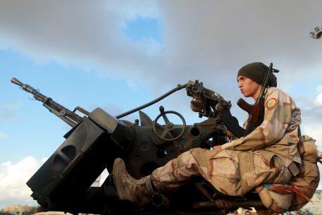 Los actores externos en el conflicto libio