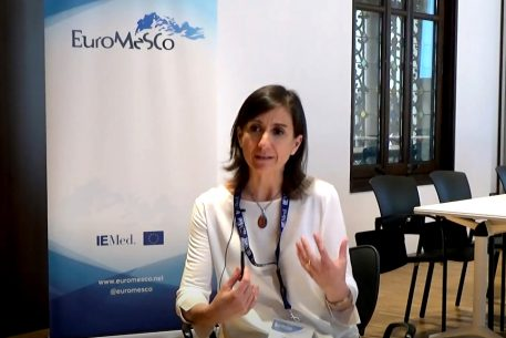 Remarks on working with the EuroMeSCo network – Valeria Talbot