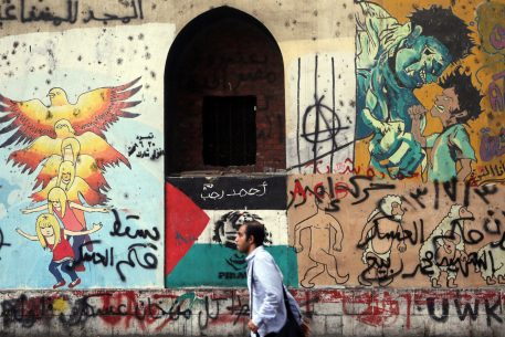 Graffiti and Political Sarcasm as Tools for Political Participation in Egypt