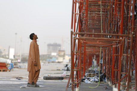 Trabajadores migrantes en los países del Golfo