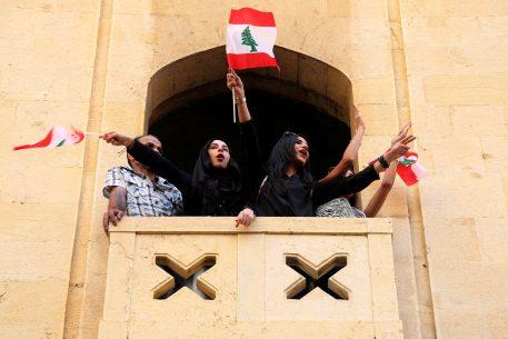 Movimientos de protesta en Líbano
