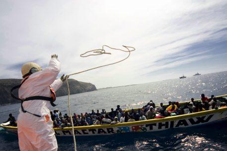 Drets humans de les persones migrants: la situació de la frontera sud