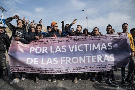 La vulneració dels drets humans a la frontera sud