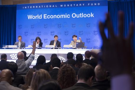 Presentation of The Regional Economic Outlook of The IMF for The Middle East