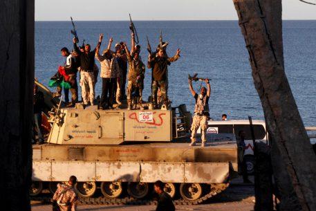 Caos en Libia
