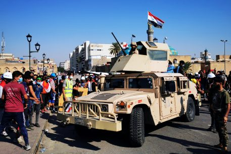 The Role of the Military in Middle East/North Africa. Protest Movements of 2019
