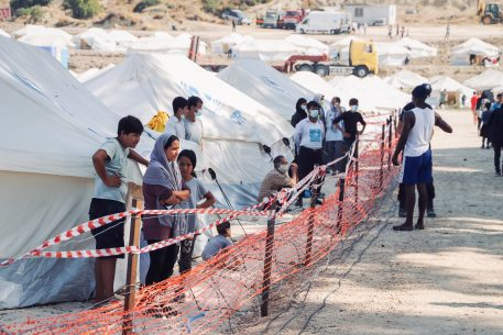 Migrants and Refugees in the Mediterranean in Times of Pandemic: Socially Distant?