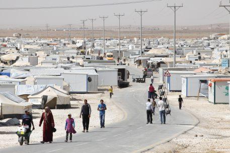 État de droit et crise des réfugiés: femmes réfugiées, Jordanie