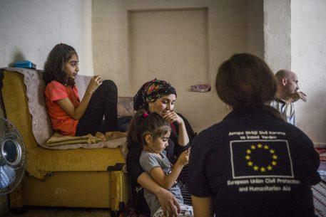 La situation des femmes réfugiées dans le contexte de la crise migratoire en Europe