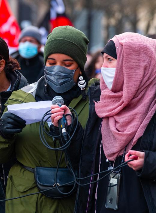 MAGIC – Femmes et communautés musulmanes contre l'islamophobie sexiste dans la société