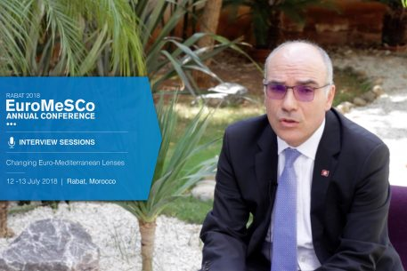 Interview with Nabil Ammar – EuroMeSCo Annual Conference 2018