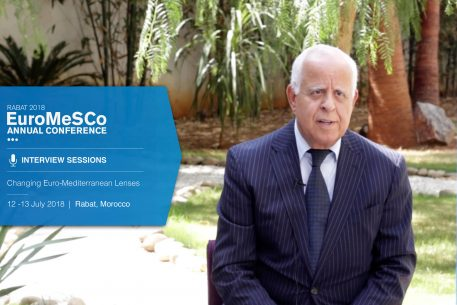 Interview with Mohamed Loulichki – EuroMeSCo Annual Conference 2018