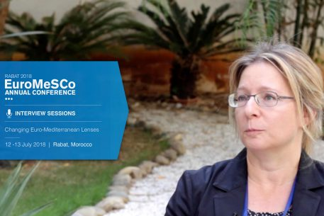 Interview with Muriel Asseburg – EuroMeSCo Annual Conference 2018