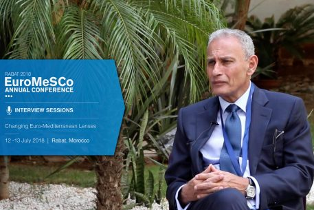 Interview with Nasser Kamel – EuroMeSCo Annual Conference 2018