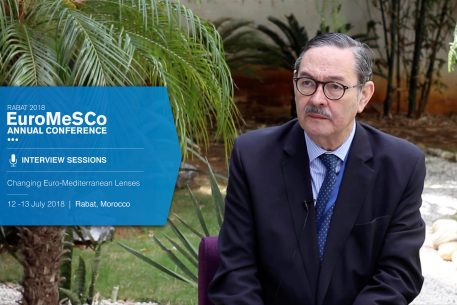 Interview with Ricardo Diez – EuroMeSCo Annual Conference 2018