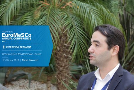 Interview with Youssef Cherif – EuroMeSCo Annual Conference 2018